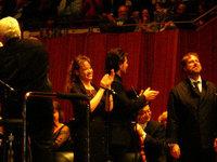 ソリストさんたち、グリゴーロはスカンディウッツィに拍手